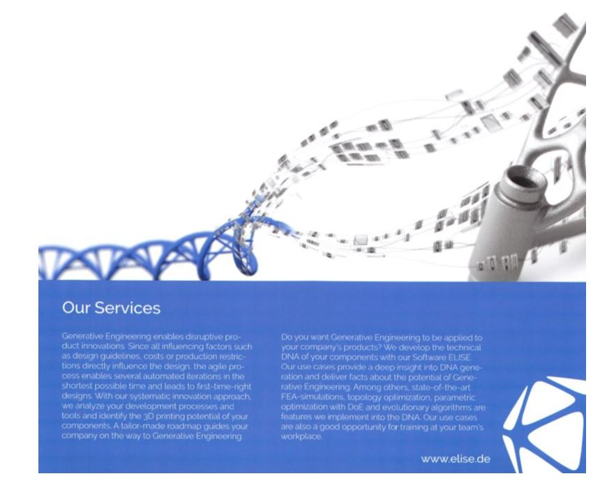 ELISE generative engineering Our Services