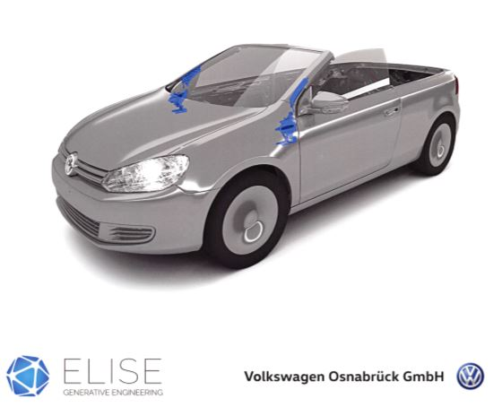 ELISE generative engineering Volkswagen